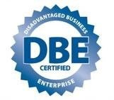 California Disadvantaged Business Certification logo - Enterprise Technology Solutions from Global IT Services